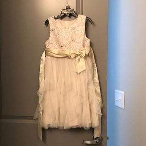 Other - Gold dress from Macy's